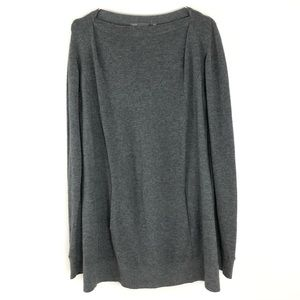 Vince Boat Neck Sweater Gray Size Large G516